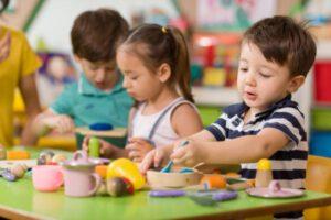 escuela infantil británica en Valencia - acuarelas