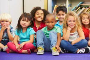 escuela infantil británica en Valencia - grupo de niños