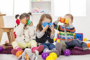 escuela infantil en Valencia - pelotas