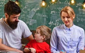 centro de educacion infantil en ingles en valencia - padres e hijo