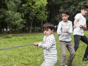 escuela infantil en valencia - en el parque-